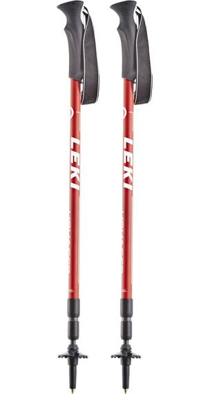 LEKI Voyager - Bâtons de randonnée - rouge